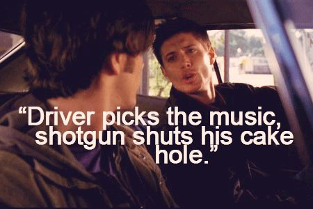 Supernatural Funny Quotes dean