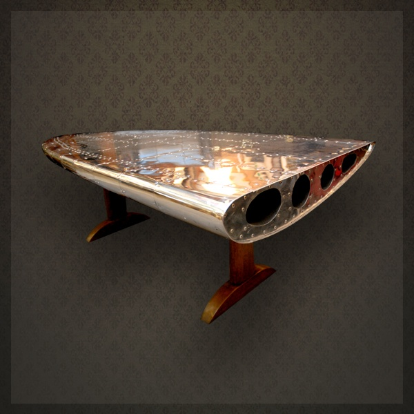 Table basse aile d 39 avion this little table can 39 t fly - Table basse gigogne fly ...