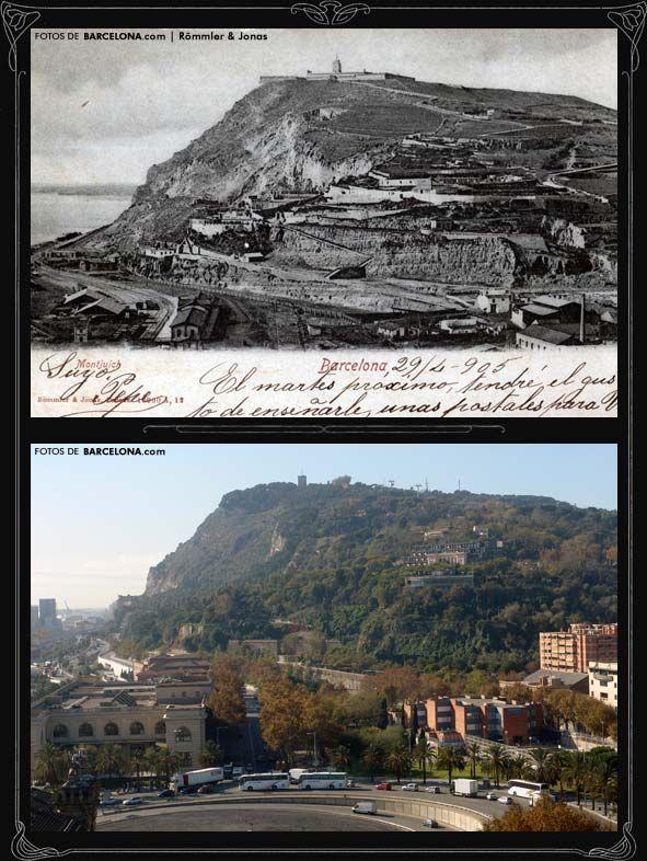 Montjuïc desde Colón (Ref:CV0105)