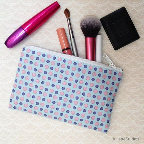 Childhood Patterns Zipper Pouch Pencil Case Cosmetics Bag