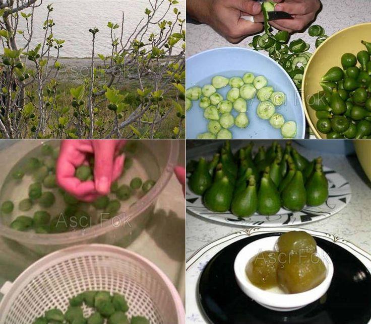 Yeşil Ham İncir Reçeli                        -  Nurdan Çakır Tezgin #yemekmutfak