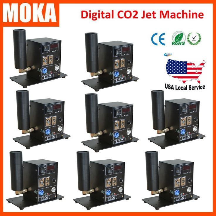 1465.00$  Watch here  - 8PCS/lot China Moka Stage Effect Co2 Jet Machine Cryo Cannon DMX Jet Blasters Jet co2 Fog Machine DJ Equipment