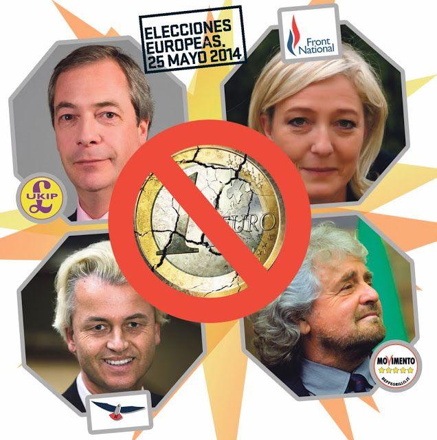 CNA: La ESTAFA SIONISTA del EURO llega a su FIN - Si Le Pen gana significará el 1er paso para la disolución del Euro