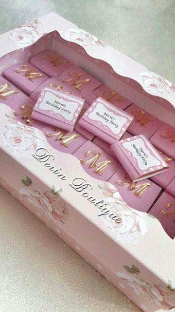 Çikokata , bebek çikolatası , doğum hediyesi , ayna harf , doğumgünü partisi , güllü kutu , doğum organizasyon