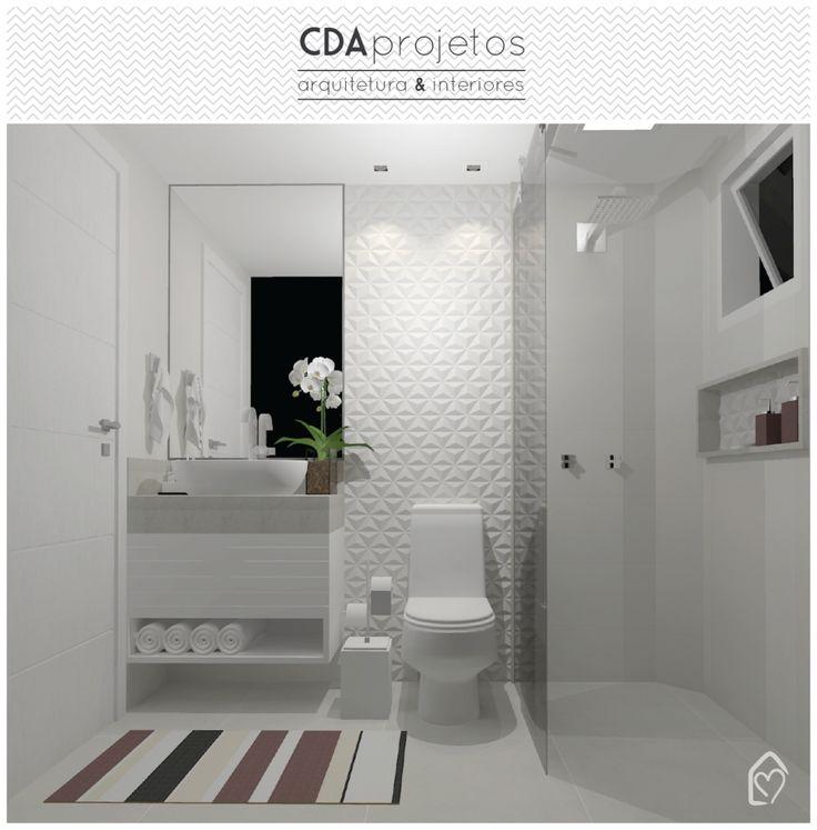 Hoje é dia de mostrar mais um projeto que fizemos em nosso escritório CDA projetos, banheiros em tons neutros, pequenos, mas super funcionais! Já mostramos salas, quartos, cozinha, mas faltava mostrar o projeto de um banheiro (no caso dois). Os banheiros eram bem antigos e precisavam de uma transformação total. Por serem bem pequenos cada …