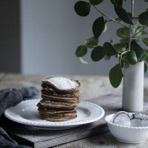 Jag fullkomligt äälskar pannkakor, allra helst amerikanska pannkakor. En riktigt bra brunch måste innehålla lite pannkakor enligt mig, helst med lönnsirap och bär eller bara pudrade med florsocker. Här kommer mitt bästa recept på amerikanska pannkakor. 2 1/2 dl vetemjöl 2 tsk bakpulver 2 msk socker 2 tsk vaniljsocker 1 krm salt 3 msk smält …