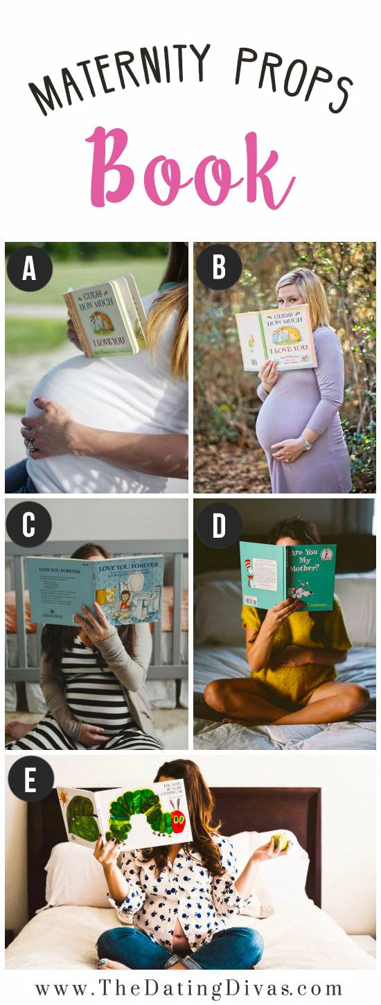 Maternity Photo Shoot Prop Ideas- these are so cute