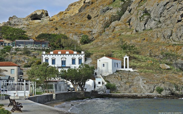 Μύρινα Λήμνος - Myrina Lemnos Greece. Στην απόλυτη ηρεμία του Ανοιξιάτικου πρωινού.