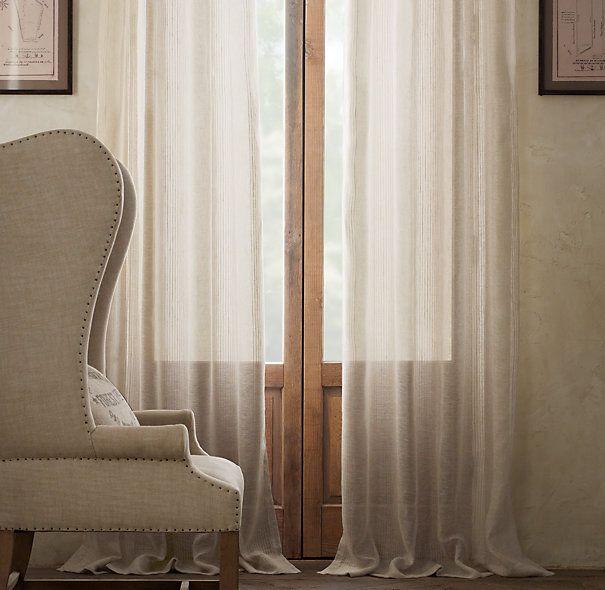 98 Best Images About Linen Curtains On Pinterest