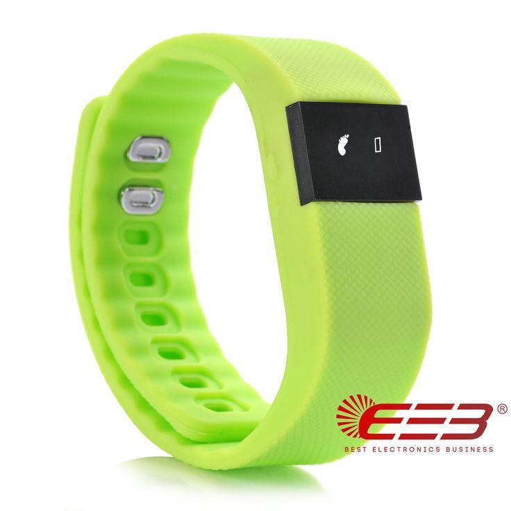 BEB Hot Selling Christmas Gift Call Reminder Alarm Clock Fitness Watch Wireless Smart Bracelet (green). Fitness watch. Smart fitness watch. Smartphone fitness watch. Watch fitness. Fitness watch bracelet.
