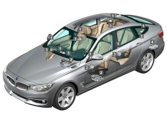 Harman Kardon Car Audio: Harman Kardon In The BMW 3-series GT. 16 Speakers, 600