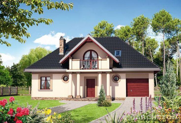 Proiecte de case rustice cu mansarda. 3 modele de locuinte reusite