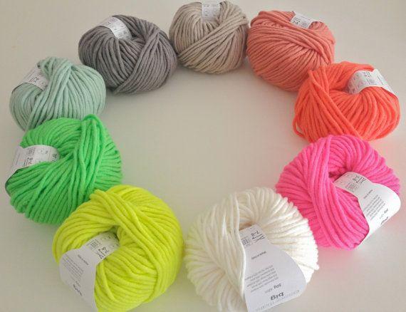 Rico essentials big super chunky bulky yarn by BeautifulMayblossom
