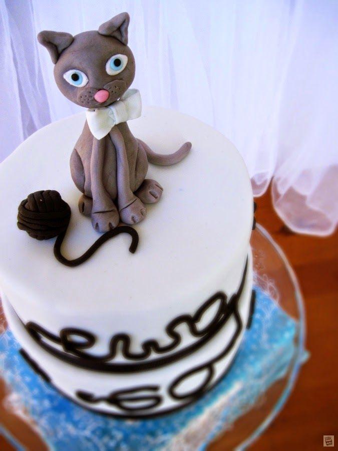 Tort urodzinowny: Kot Brytyjski