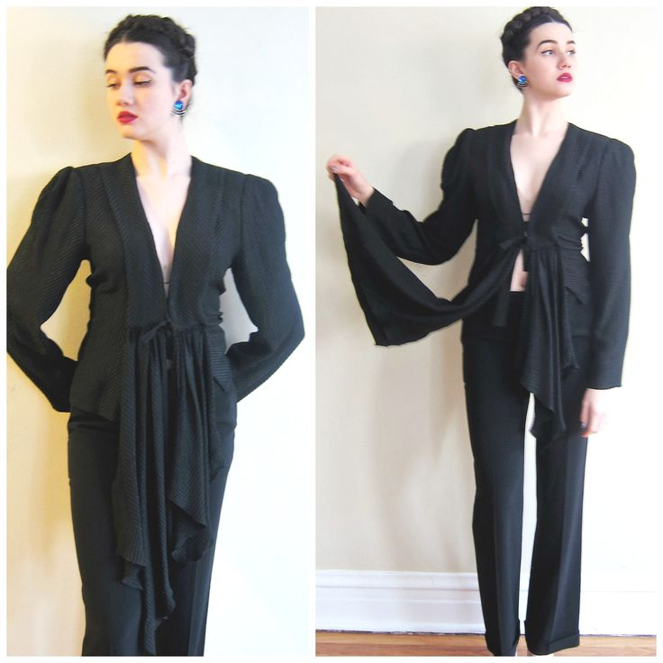 Black dress jacket mens 90s
