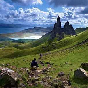 Isle of Skye in the Scottish Highlands - so beautiful!