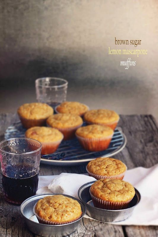Mascarpone, Brown sugar and Muffins on Pinterest