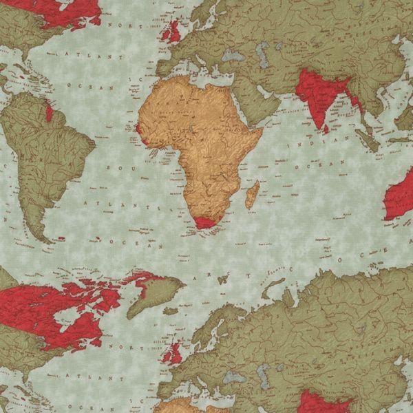 Passport mapa světa
