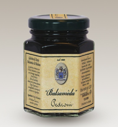 100% Italian food: Balsameda, jelly of balsamic vinegar from Acetaia Pedroni - Buy online