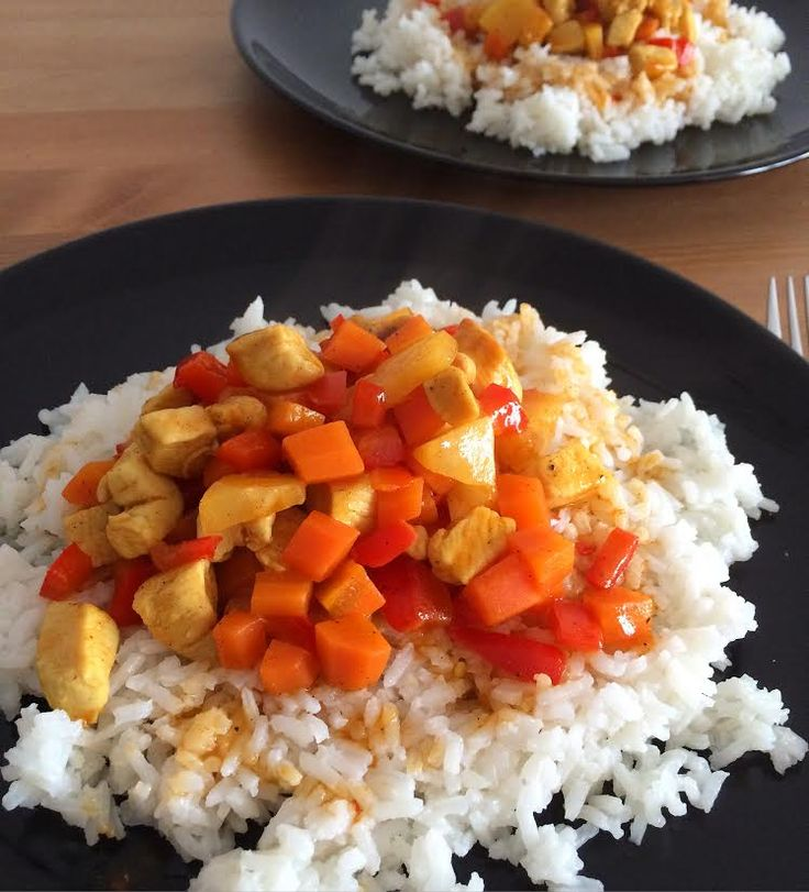 Chinese sweet and sour chicken breast