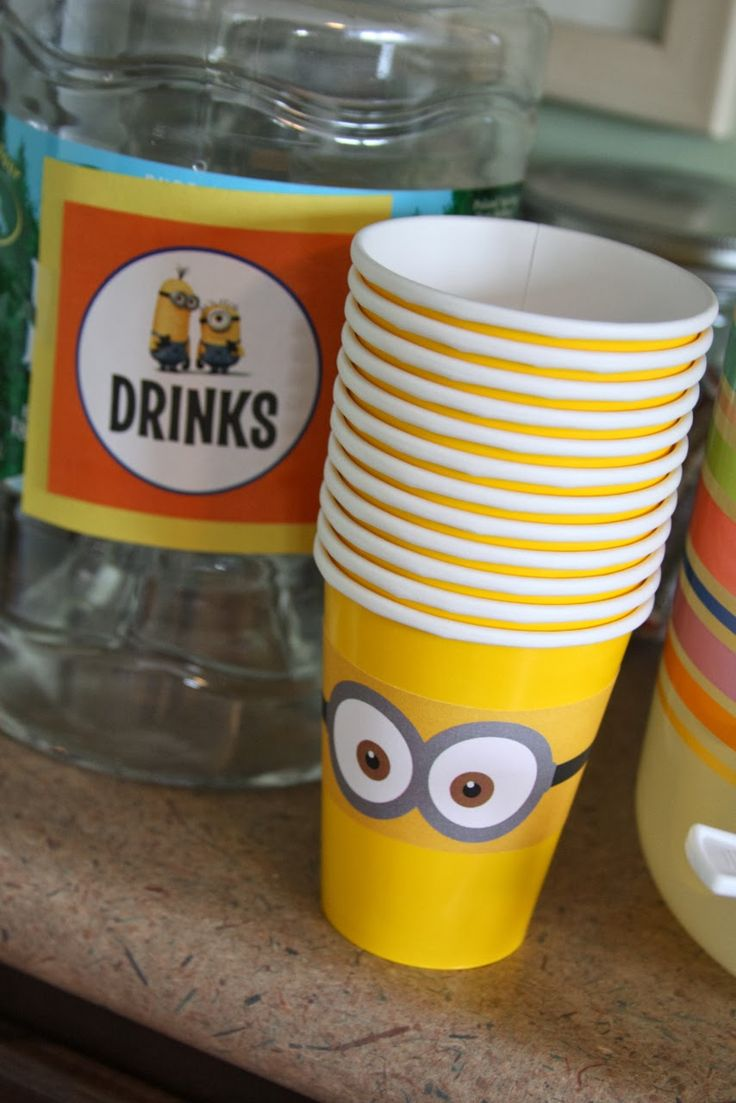 Minion Birthday Party 53 Best Minions Birthday Party Images On Pinterest