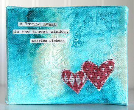 Altered Things, Journals Inspiration, Colors, Inspiration Peinture, Art Journals, Media Art, Mixed Media, Love Canvas, Ronda Palazzari