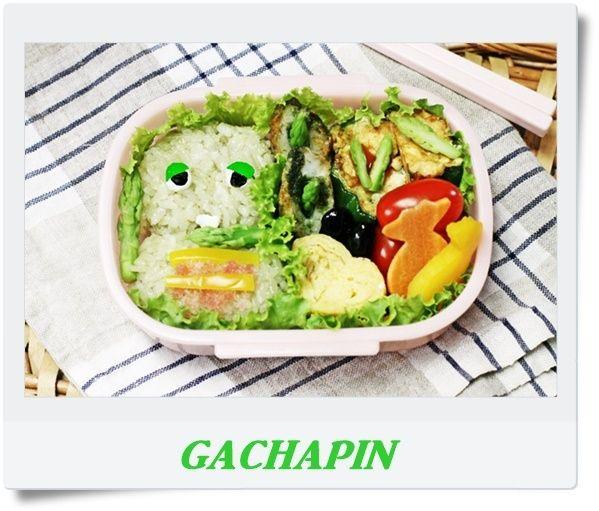 便利野菜.jpのほうれん草パウダーでGACHAPIN。|sweet pepper café *photo*