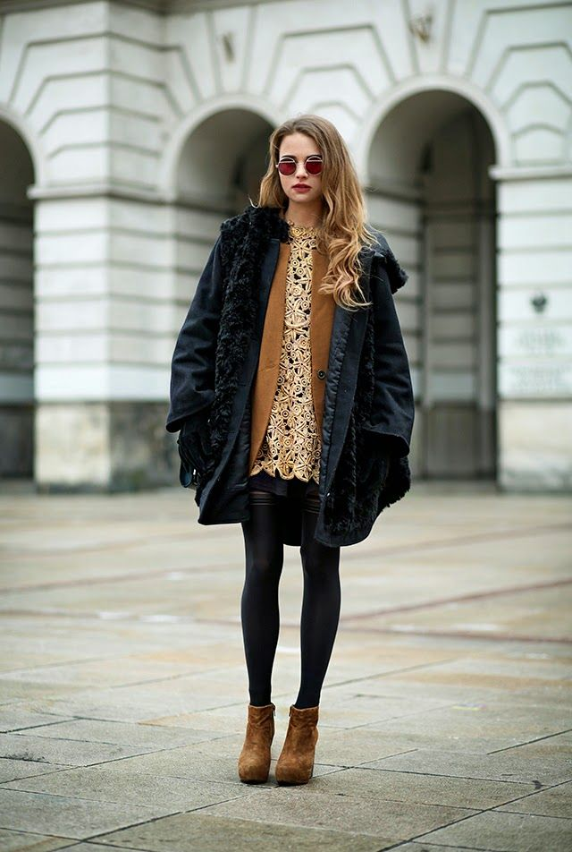Hate Wearing Tights in the Winter? 35 Outfits That'll Change YourMind | StyleCaster