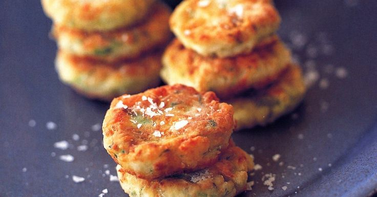 For the ultimate party food you can't beat these delicious zucchini and haloumi fritters.