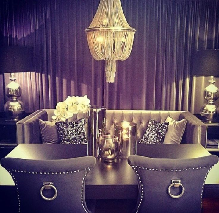 1000 Images About Glamour And Bling Home Decor On
