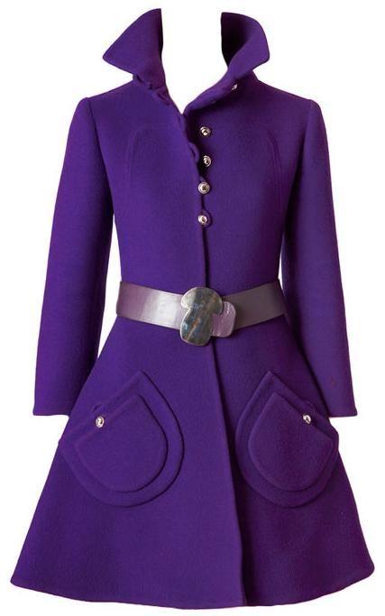 Coat  1960s  1stdibs.com1960S 1Stdibs Com, Vintage 1960, 1960S Clothing, Purple Coats, Face Wool, Coats 1960S, 1960S Fashion, Vintage Coats Pocket, Mod Coats