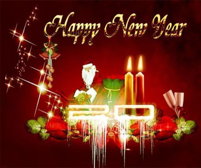 happy new year live wallpaper download for the smartphone