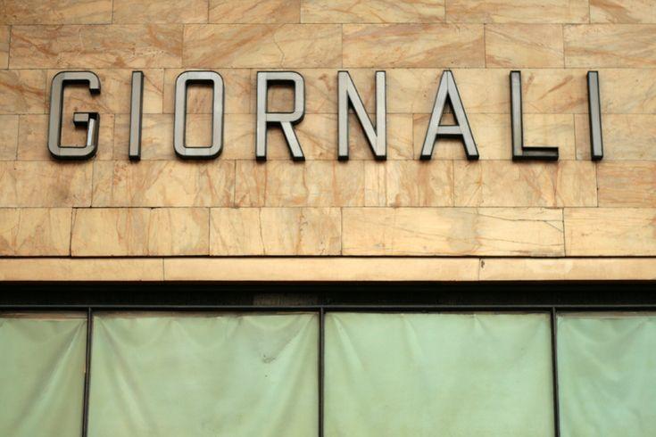 Vernacular Typography: Giornali