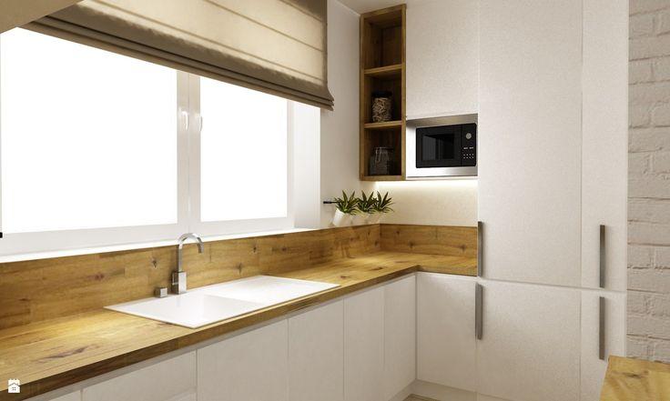 Kuchnia styl Skandynawski - zdjęcie od Grafika i Projekt architektura wnętrz - Kuchnia - Styl Skandynawski - Grafika i Projekt  architektura wnętrz