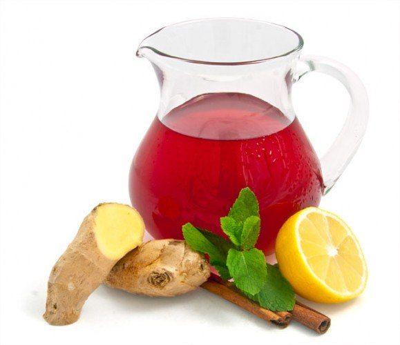 Жиросжигающий напиток - волшебство имбиря, меда и фруктов! - корень имбиря - 1 штука длиной 10 см - красные яблоки - 10-12 штук - ц...