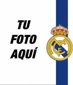 #deportes #futbol #fotomontaje Pon el #escudo y los colores del Real Madrid #RealMadrid con tu foto! www.fotoefectos.com