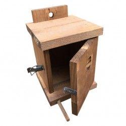 Nido in legno anticato per uccellini CHIP FARMAKER