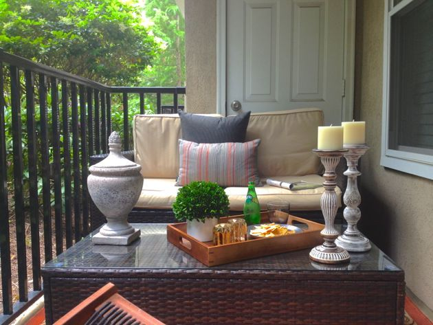 521 best decorating small balconies images on pinterest | balcony ... - Small Condo Patio Decorating Ideas