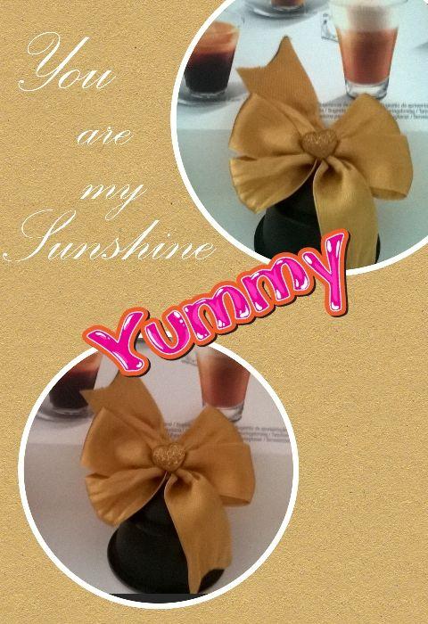 Cappuccino bow (diy hair clip)