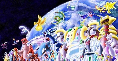 pokemon. los legendarios: