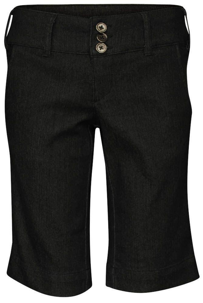 Damen, Modest Denim, Bermudashorts, dunkle Waschung – Aus dem Laden – #BERMUDA # …   – Shorts