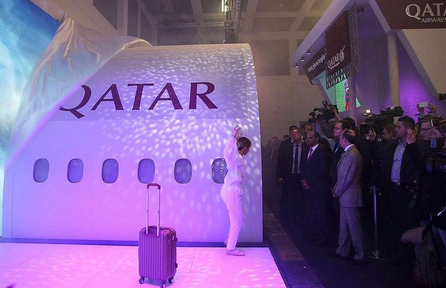 Qatar Airways Launches Customizable QSuite Concept at ITB Berlin.