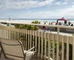 Blue Sea Beach Hotel (San Diego, CA) - pricey but really cute/kitchy and on the beach