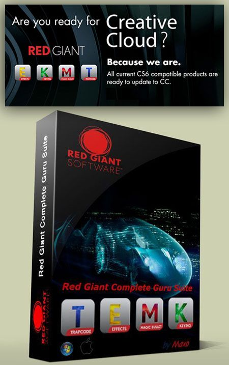 Red Giant All Plugins Suite For Adobe After Effects CC and ...