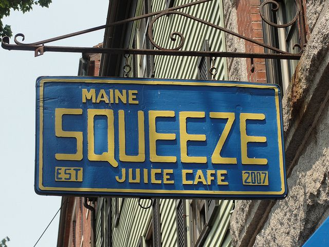 *Squeeze Juice Cafe - Portland, Maine
