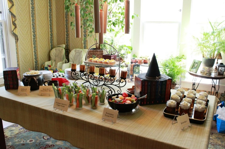 from my incredible and magical harry potter themed baby shower the