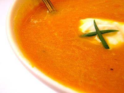 Cream of Carrot Soup with Thermomix