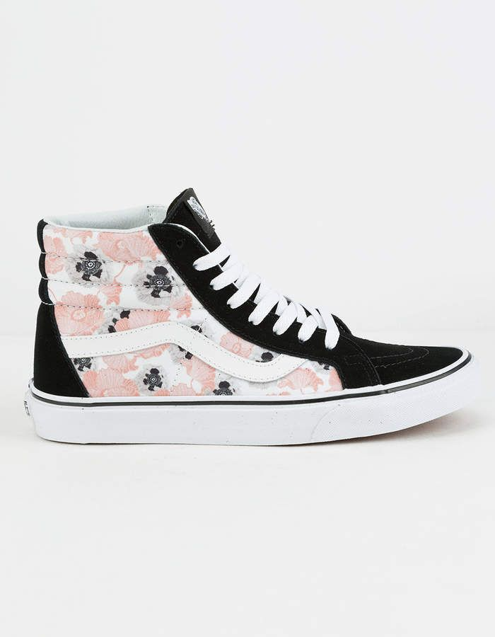 4faa5503c1 Vans California Poppy Sk8-Hi Reissue Womens Shoes