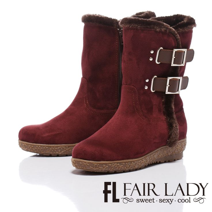 https://tw.buy.yahoo.com/gdsale/Fair-Lady-冬季範本-鋪毛粗獷扣帶式短靴-紅-4853991.html