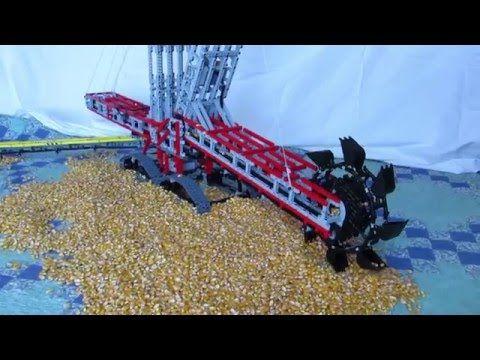 Lego bucket wheel excavator MOC - YouTube